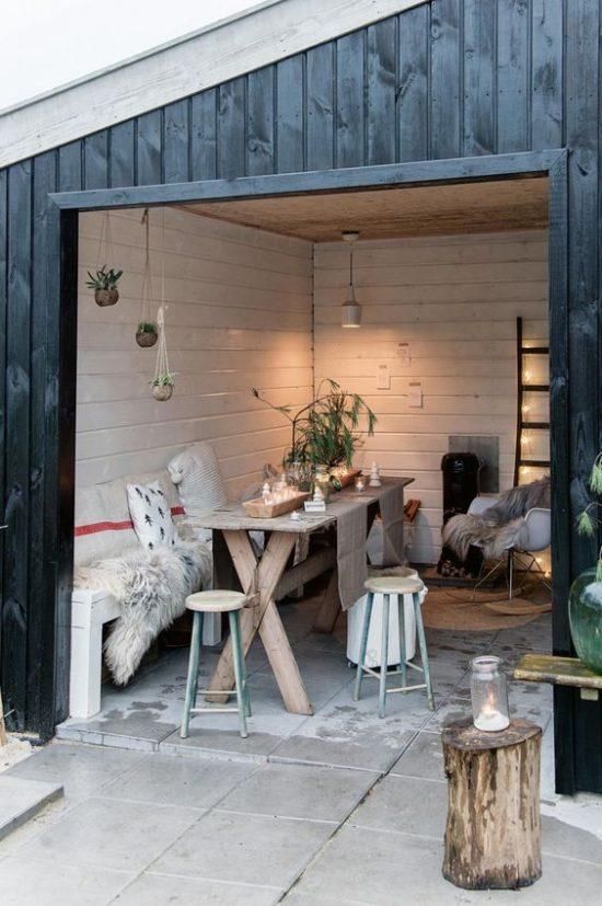 Inspiratie voor een nieuw tuinhuisje