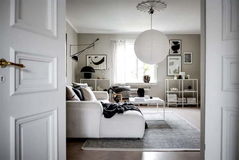 interieur meubelset scandinavisch