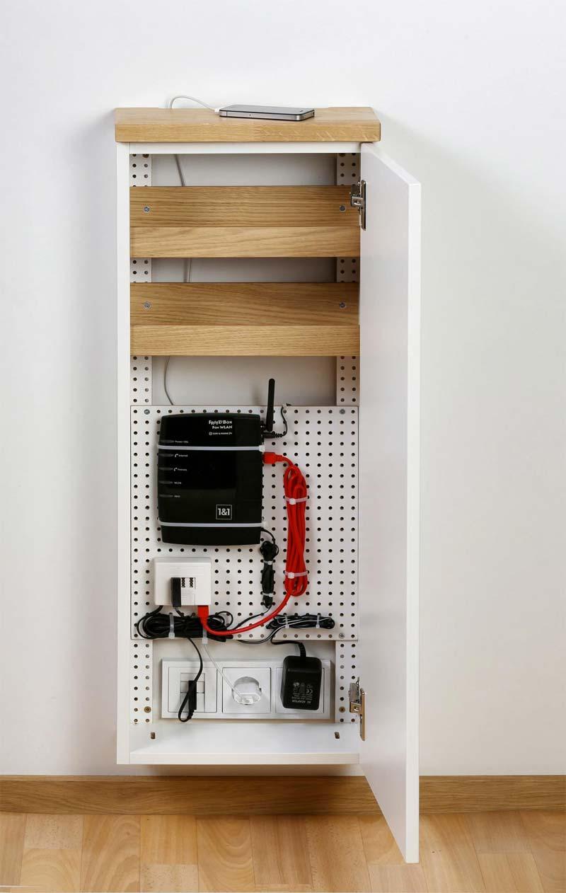 kabels wegwerken stopcontact ombouw