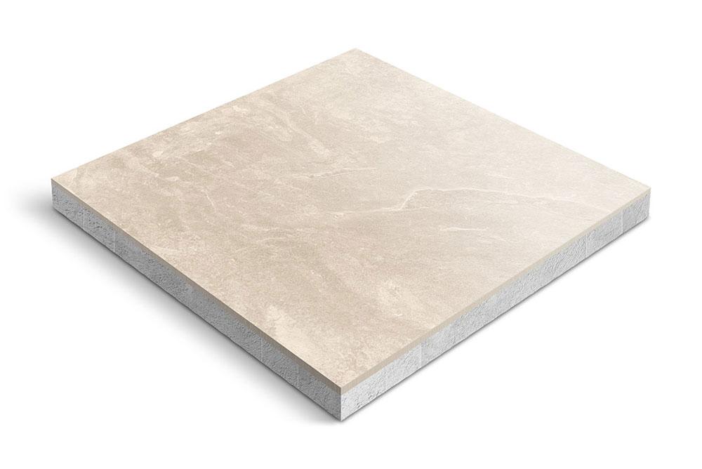 Keramiek op beton
