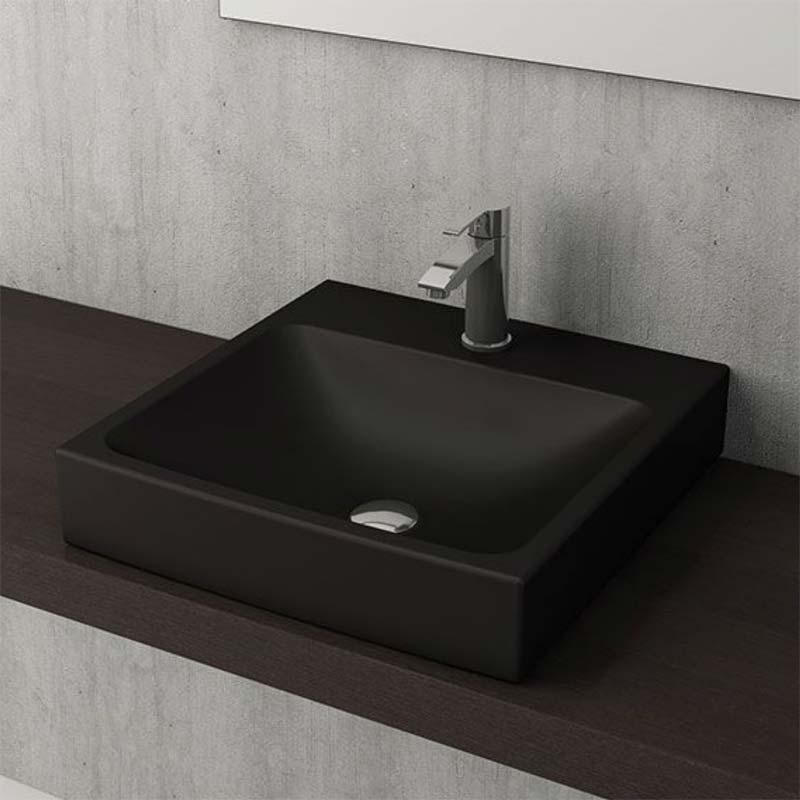 keramische wastafels zwart badkamers