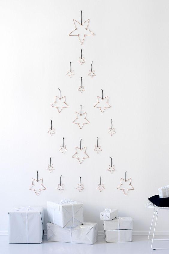 Kerstboom alternatief inspiratie
