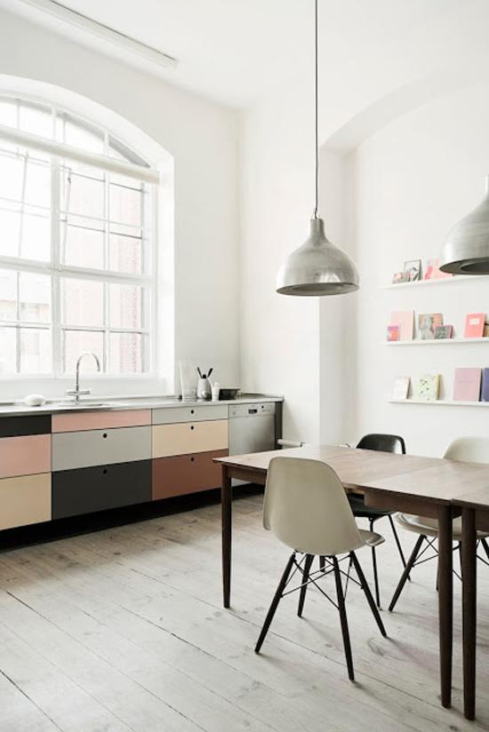 Parallel Keuken Afstand : Keuken Inspiratie Kleuren : Een keuken met pastelkleuren