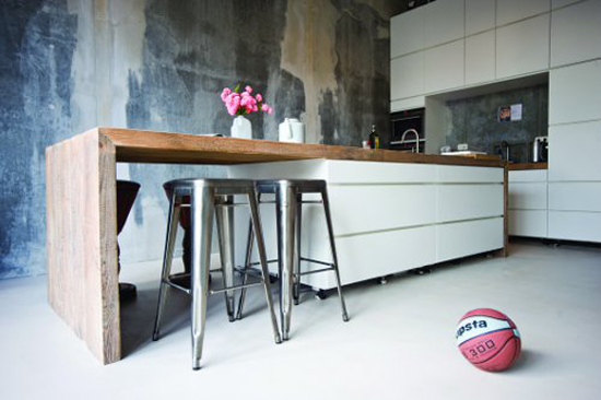 Keuken Steigerhout Look : Keuken van Emilia op IJburg Wooninspiratie