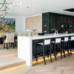 Open keuken op de Amsterdamse Zuidas
