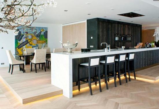 Werkplek Keuken Inrichten : Werkplek in de woonkamer interieur inrichting