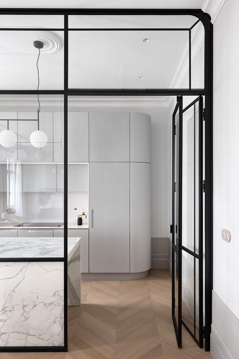 keukentrends 2021 glazen wand