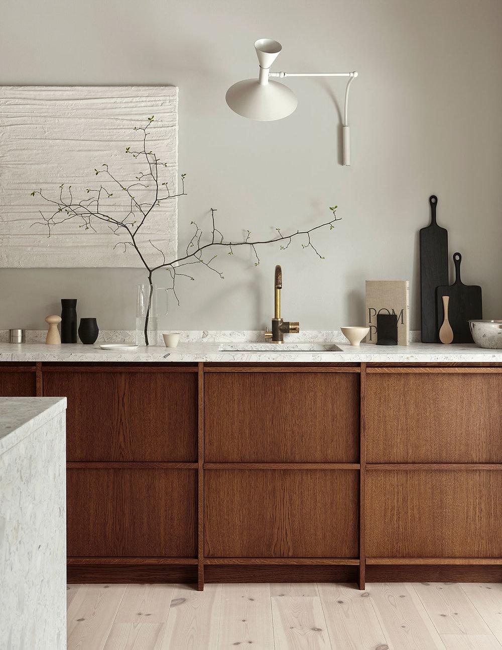 keukentrends 2021 houten keuken