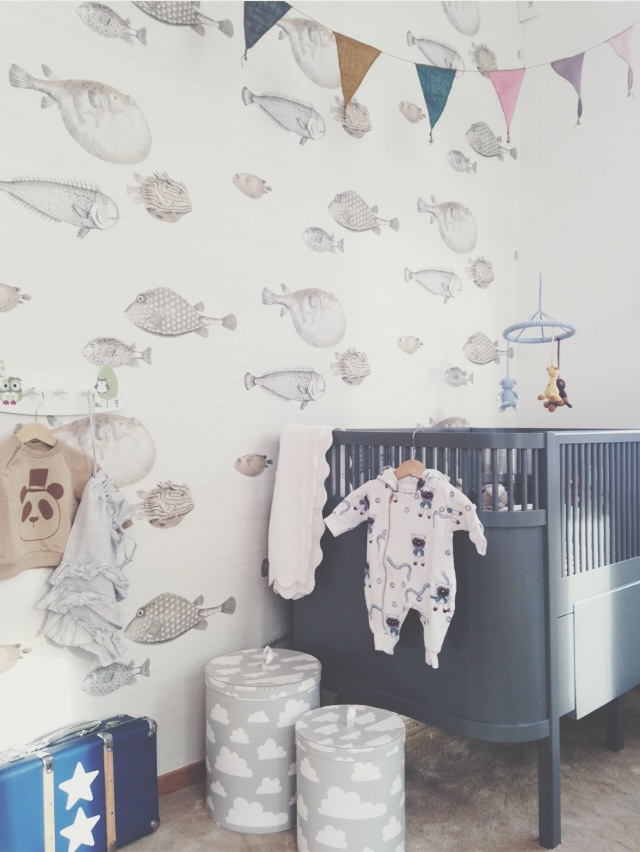 Kinderkamer behang cole & son acquario