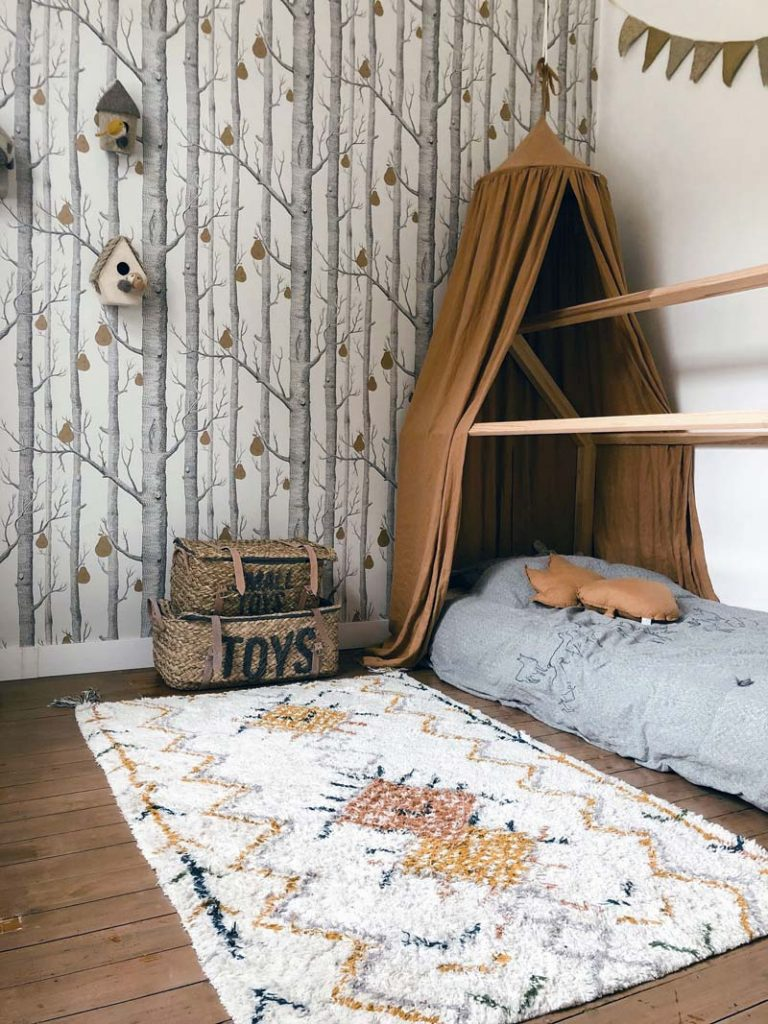 kinderkamer behang cole son woods