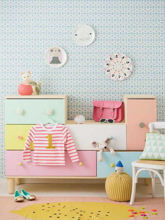 Kinderkamer inrichten met pastelkleuren wooninspiratie - Kinderkamer ruimte ...