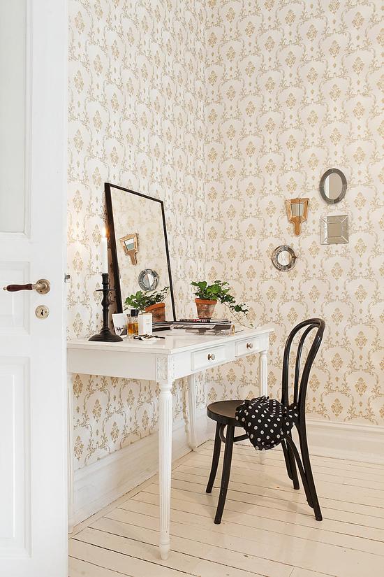 slaapkamer inrichting met klassieke details | wooninspiratie, Deco ideeën