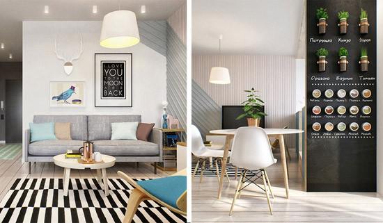 Klein Appartement Inrichting : Klein appartement in moskou wooninspiratie