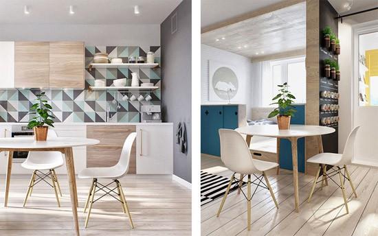 Klein appartement in moskou wooninspiratie - Layout klein appartement ...