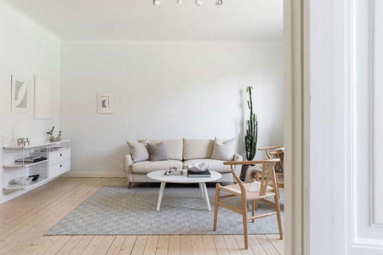 klein appartement van55m2 met een rustig-interieur