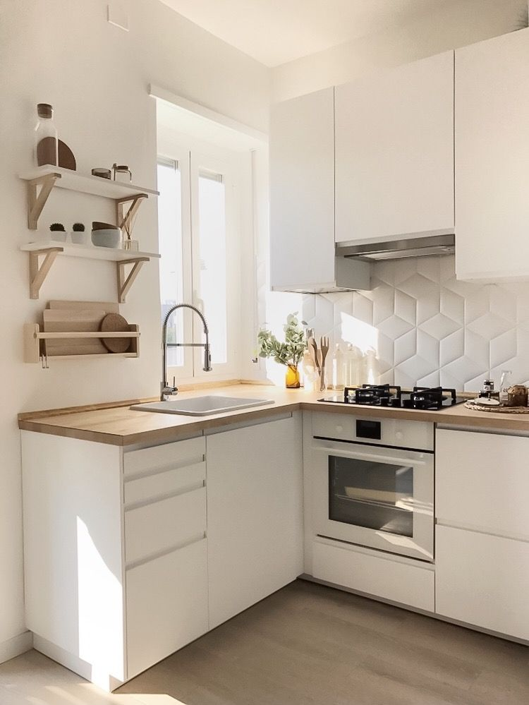 kleine keuken inrichten tips keukenapparatuur opbergen