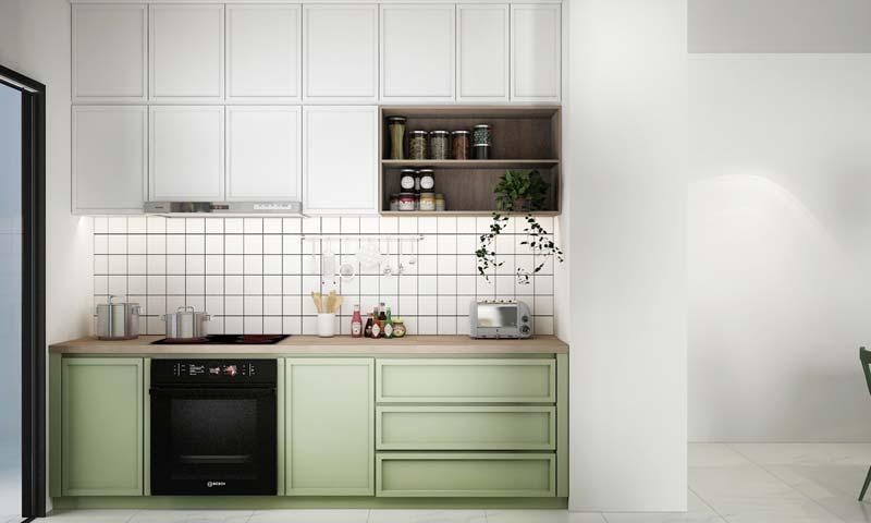 kleine keuken tips minimalistisch ontwerp