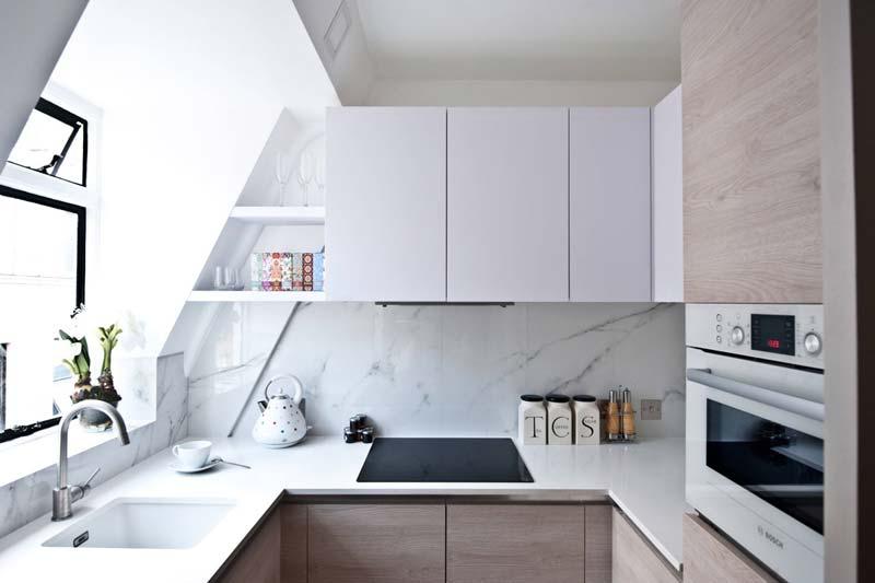 kleine keuken tips spleten gaten benutten