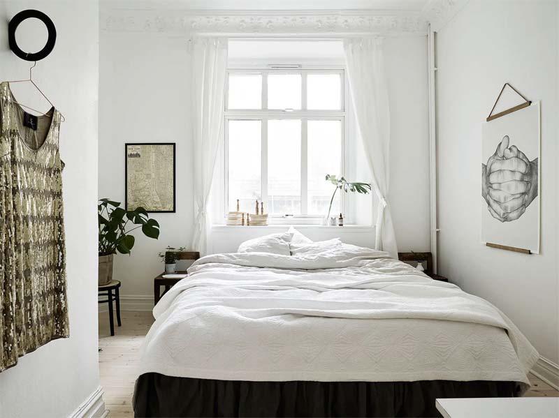 kleine slaapkamer tips lichte kleuren