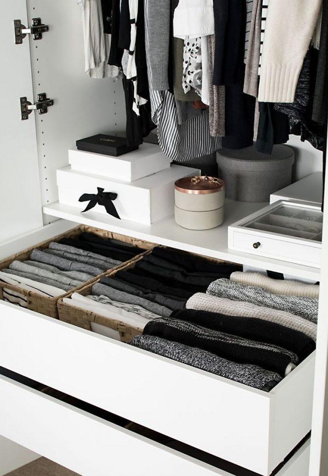 kleine slaapkamer tips opruimen kledingkast