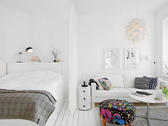 Kleine studenten studio inrichten wooninspiratie - Kies kleur ruimte ...