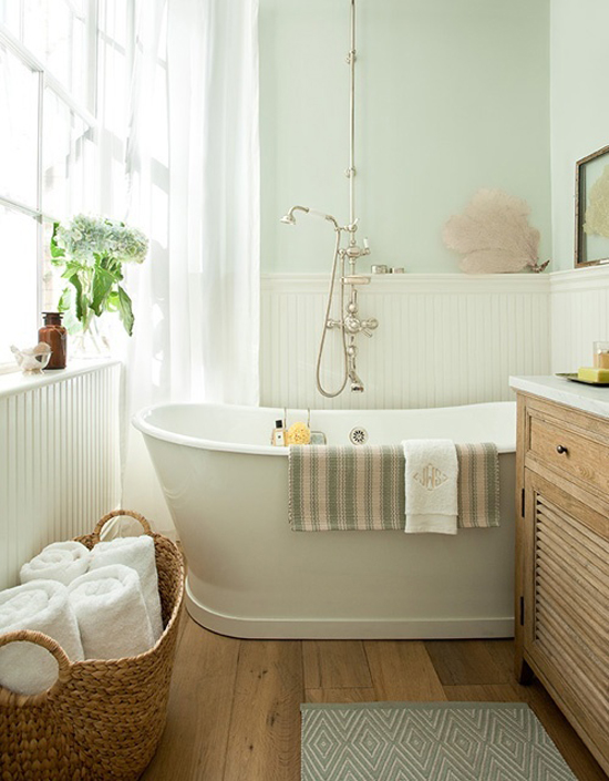 Inrichten van een kleine badkamer wooninspiratie - Kleur idee ruimte zen bad ...