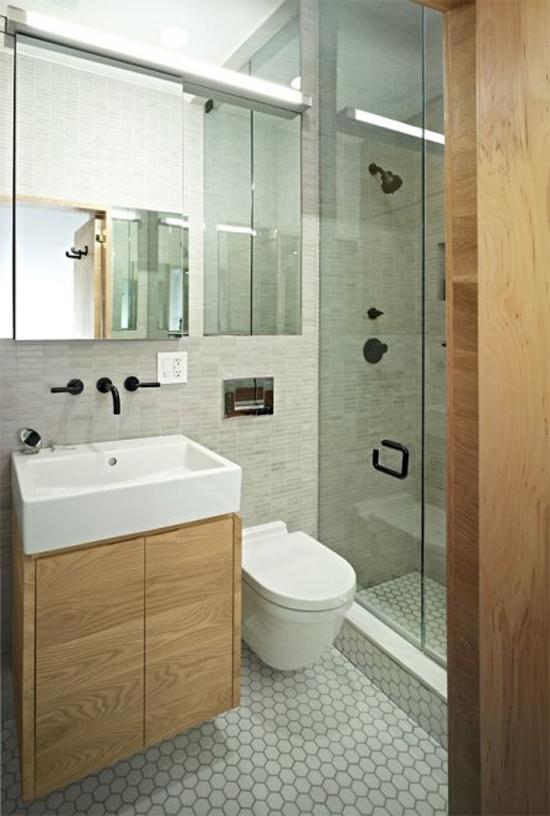 ... Badkamer ~ Badkamers voorbeelden ? Kleine IKEA badkamer in slaapkamer