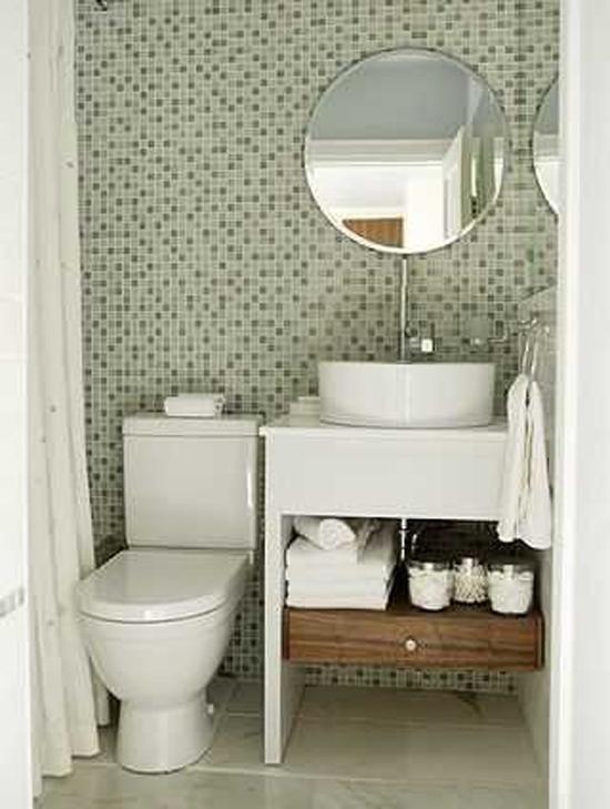 inrichten van een kleine badkamer  wooninspiratie, Meubels Ideeën