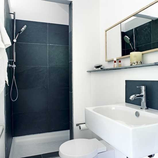 Inrichten van een kleine badkamer wooninspiratie for Bathroom designs for small spaces uk