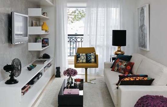 Inrichten van een kleine woonkamer wooninspiratie - Kleine woonkamer decoratie ...