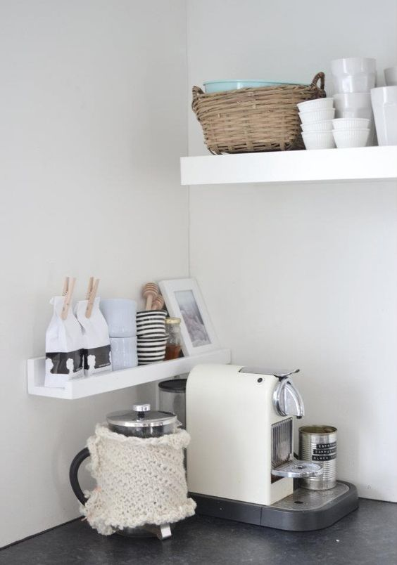 keuken ideeën koffiehoekje