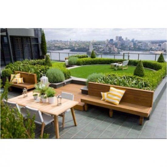 Ga voor groen: kunstgras op het balkon
