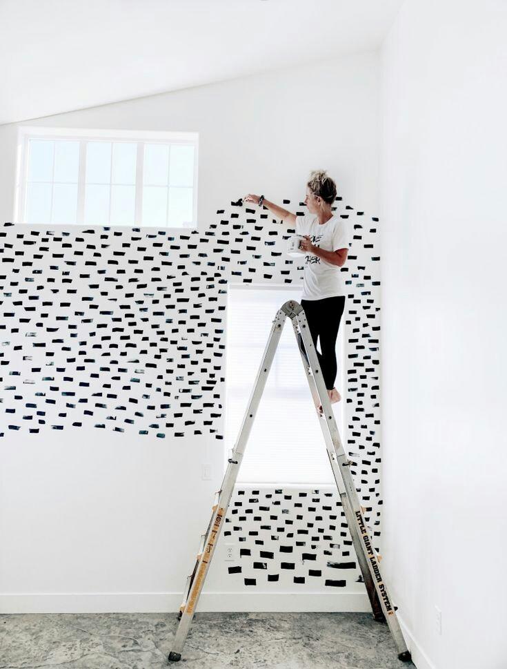 ladder verven