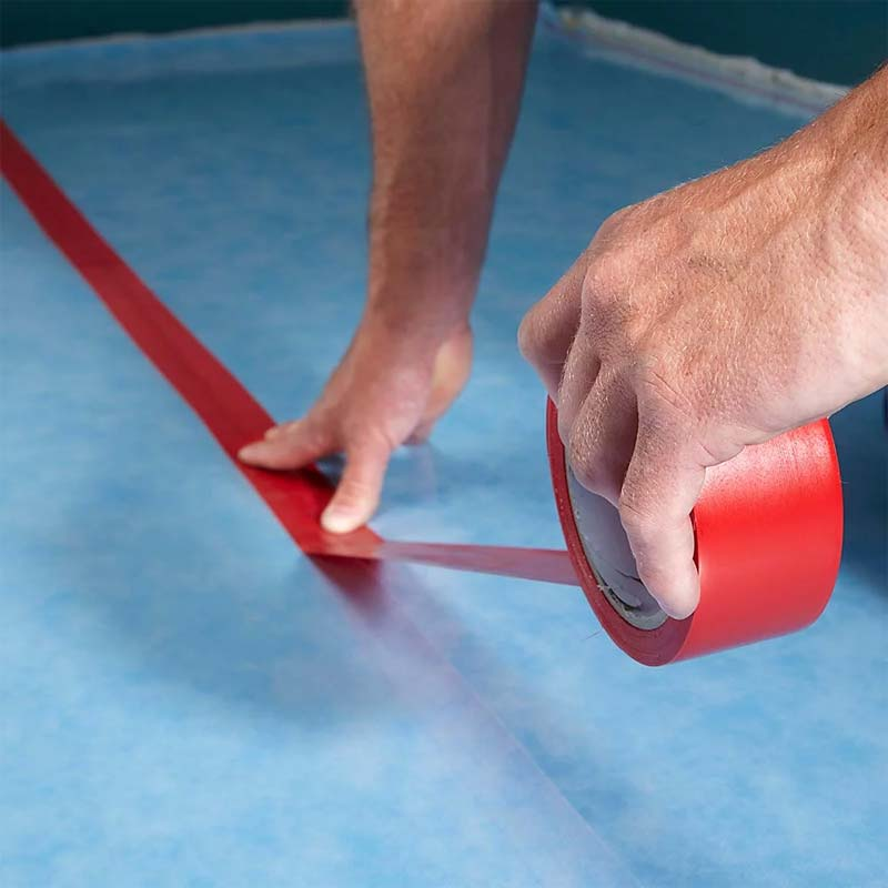 laminaat leggen tips naden ondervloer plakken