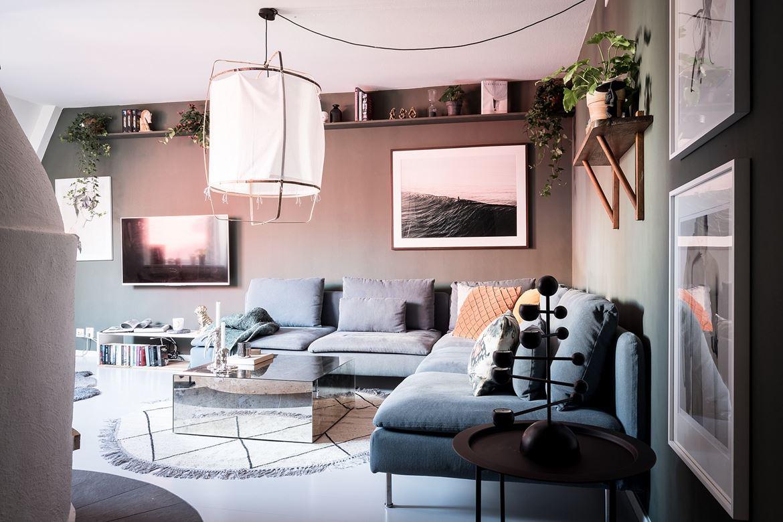 Leuke driehoekige woonkamer | Wooninspiratie