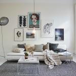Licht appartement met ovale ramen