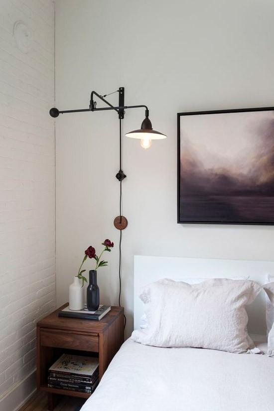 Lichte sfeer in de slaapkamer