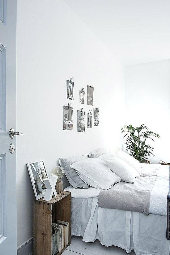 Lichte slaapkamer ideeën