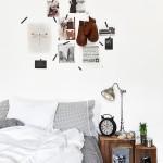 Lichte slaapkamerinrichting