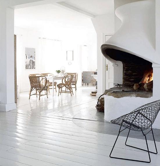 Lichte woonkamer met veel vintage | Wooninspiratie