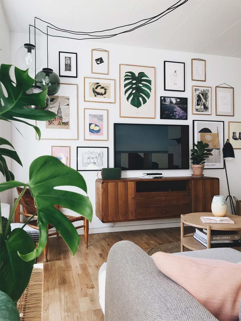 lijsten om tv hangen