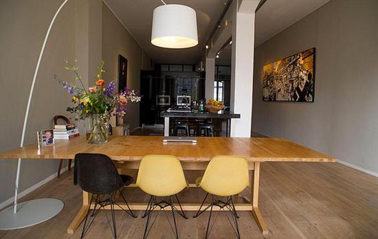 Wooninrichting loft appartement in amsterdam wooninspiratie for Wooninrichting inspiratie