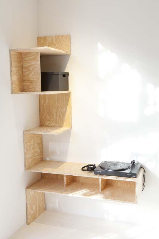 Maak je eigen meubel van underlayment