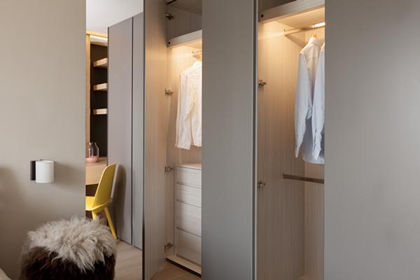maatwerk kledingkast slaapkamer