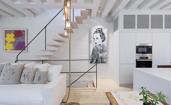 Renovatie van een prachtige duplex appartement