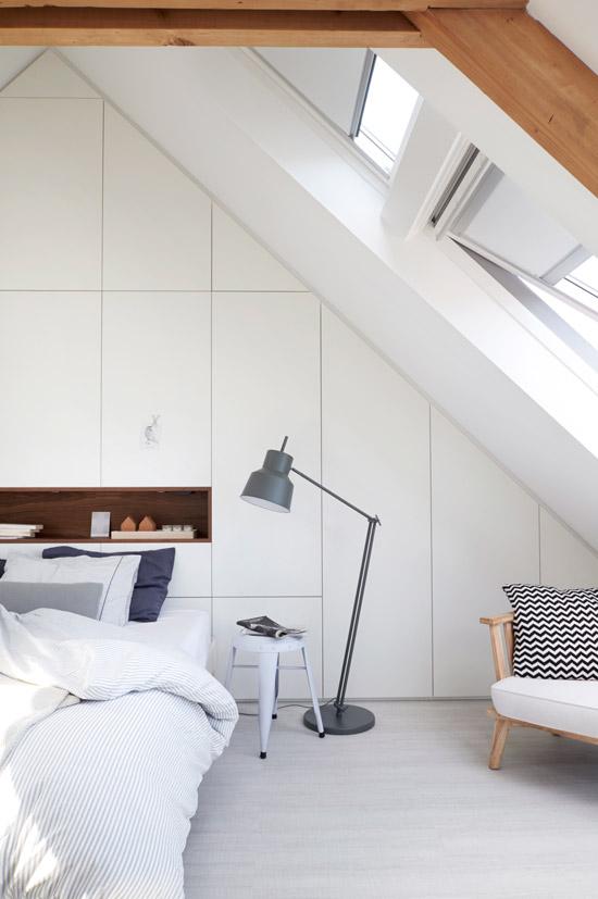 Make over van de zolderkamer wooninspiratie - Idee van zolderruimte ...