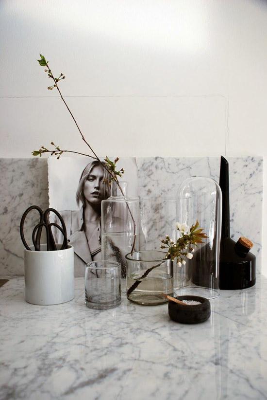 Marmeren elementen in huis  Wooninspiratie # Wasbak Karwei_121644