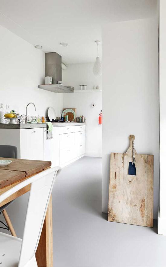 ... huis, en een marmoleum vloer staat zeker bij ons hoog in het lijstje