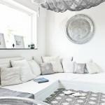 Marokkaanse woonkamer