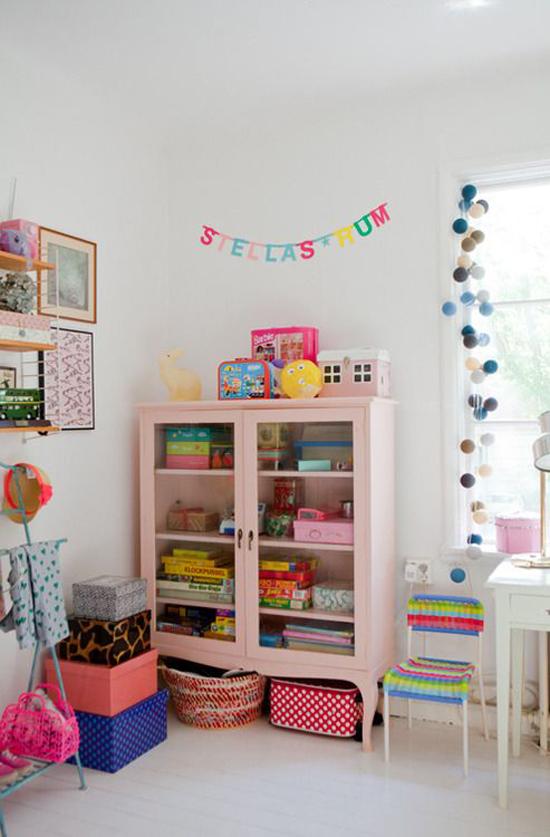 Idee n voor meisjeskamer wooninspiratie - Roze meid slaapkamer ...
